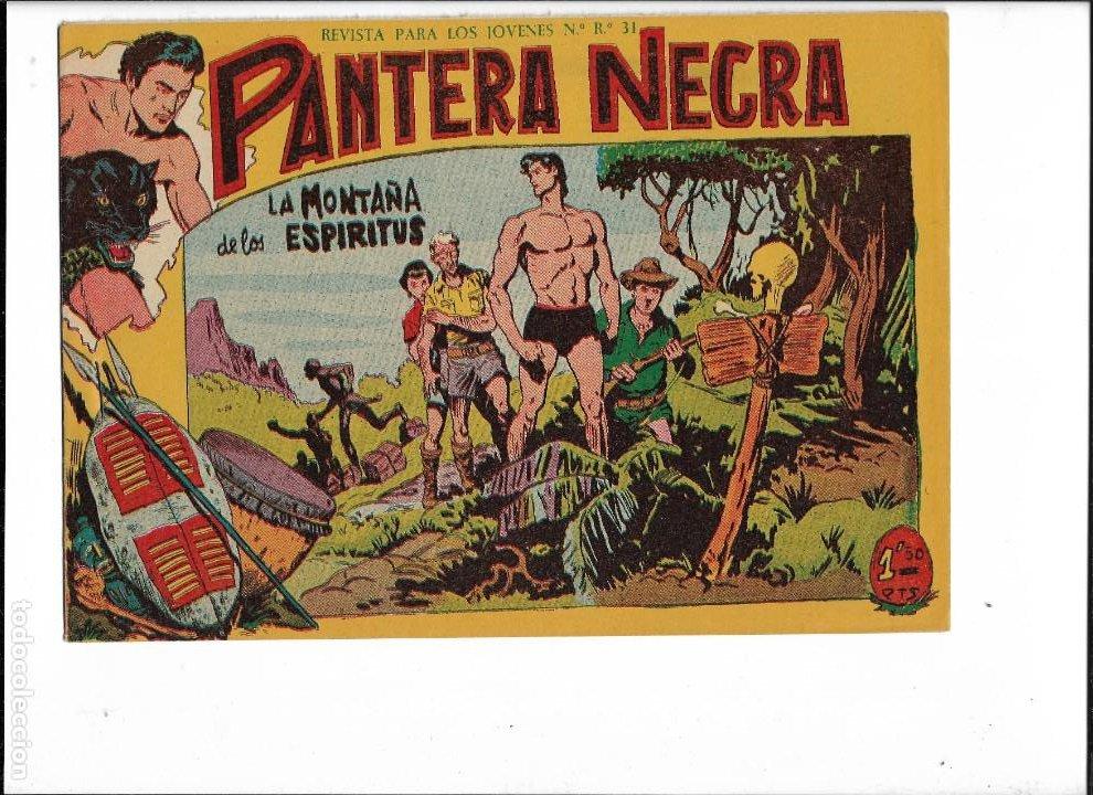 Tebeos: Pantera Negra Colección Completa son 54 Tebeos Originales muy nuevos + 4 Almanaques 1957 al 1960 - Foto 17 - 220265656
