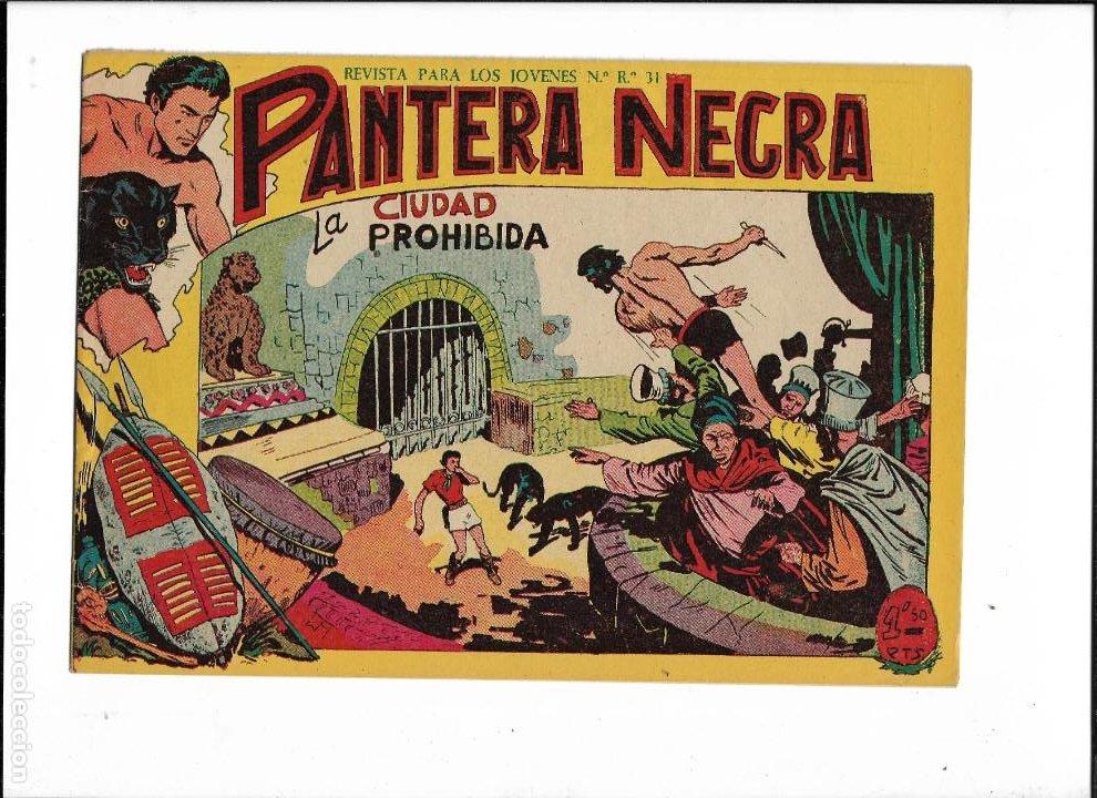 Tebeos: Pantera Negra Colección Completa son 54 Tebeos Originales muy nuevos + 4 Almanaques 1957 al 1960 - Foto 18 - 220265656