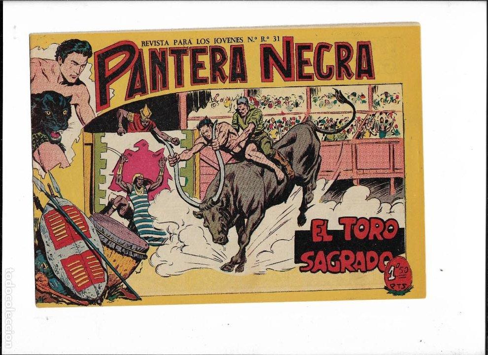 Tebeos: Pantera Negra Colección Completa son 54 Tebeos Originales muy nuevos + 4 Almanaques 1957 al 1960 - Foto 19 - 220265656