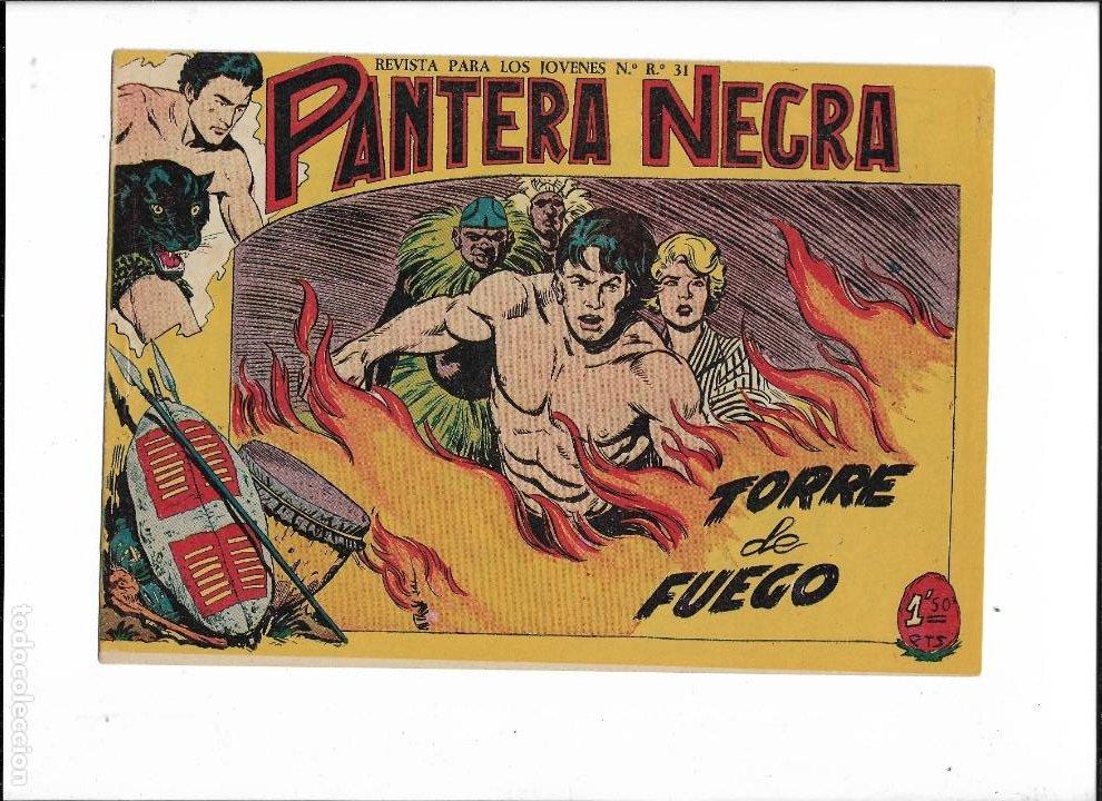 Tebeos: Pantera Negra Colección Completa son 54 Tebeos Originales muy nuevos + 4 Almanaques 1957 al 1960 - Foto 20 - 220265656