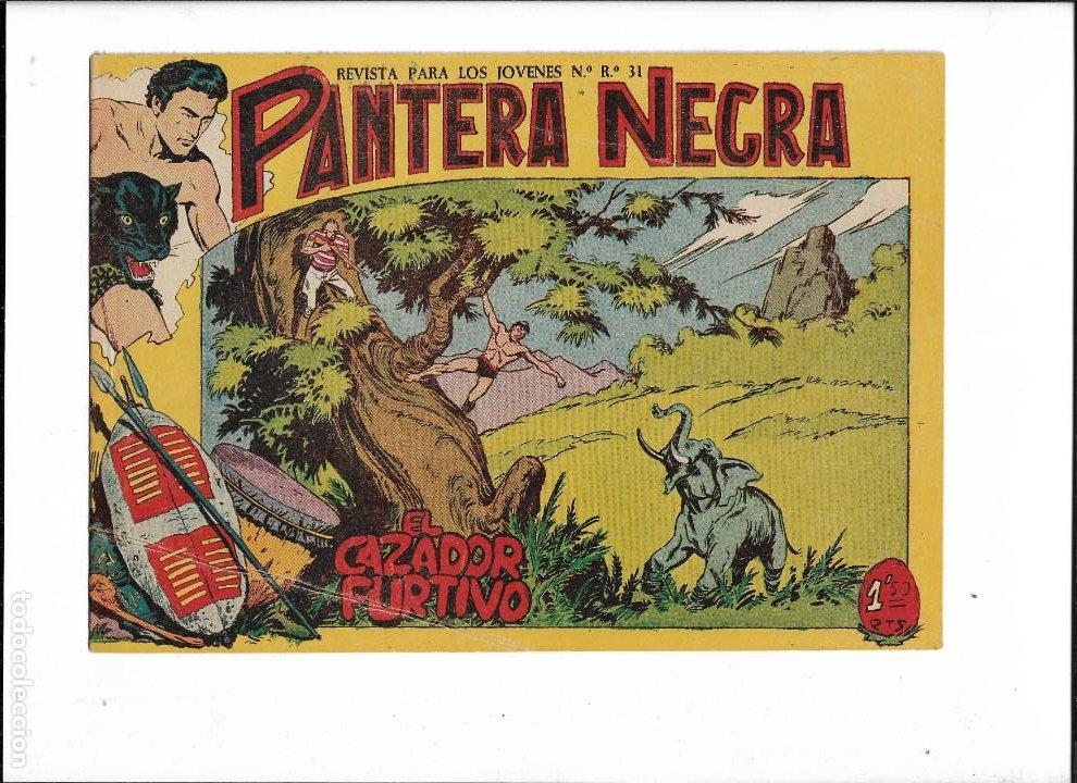 Tebeos: Pantera Negra Colección Completa son 54 Tebeos Originales muy nuevos + 4 Almanaques 1957 al 1960 - Foto 21 - 220265656