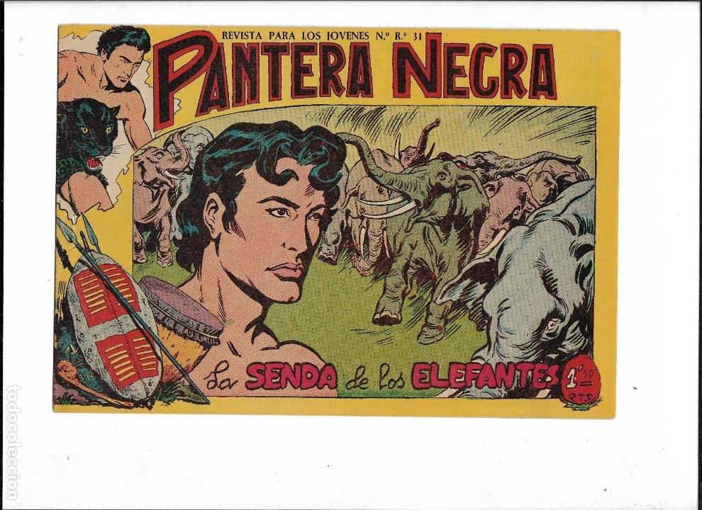 Tebeos: Pantera Negra Colección Completa son 54 Tebeos Originales muy nuevos + 4 Almanaques 1957 al 1960 - Foto 22 - 220265656
