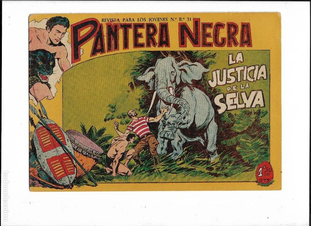 Tebeos: Pantera Negra Colección Completa son 54 Tebeos Originales muy nuevos + 4 Almanaques 1957 al 1960 - Foto 23 - 220265656