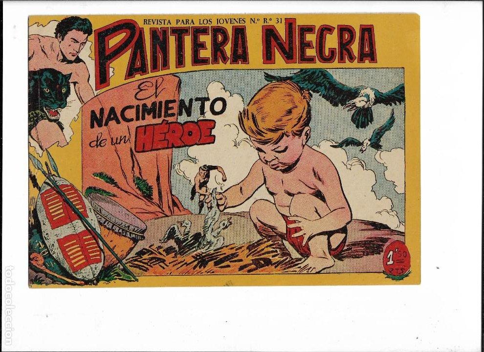 Tebeos: Pantera Negra Colección Completa son 54 Tebeos Originales muy nuevos + 4 Almanaques 1957 al 1960 - Foto 24 - 220265656