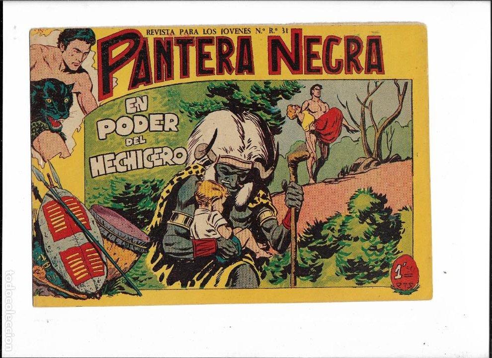 Tebeos: Pantera Negra Colección Completa son 54 Tebeos Originales muy nuevos + 4 Almanaques 1957 al 1960 - Foto 25 - 220265656