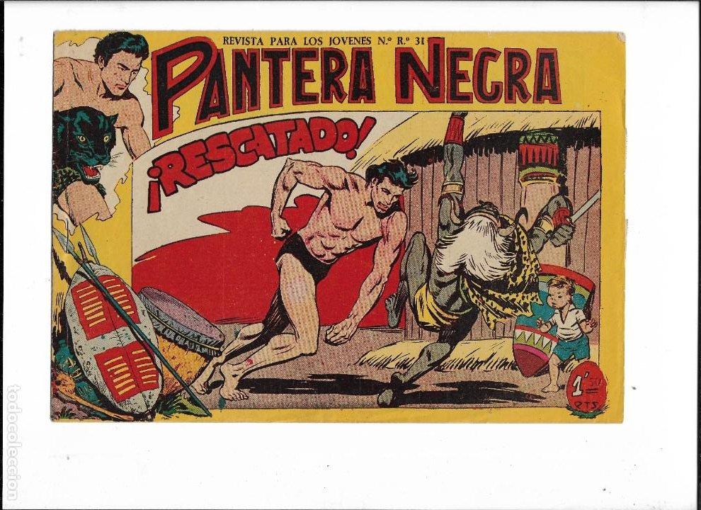 Tebeos: Pantera Negra Colección Completa son 54 Tebeos Originales muy nuevos + 4 Almanaques 1957 al 1960 - Foto 26 - 220265656