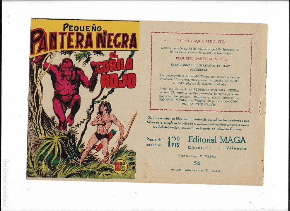 Tebeos: Pantera Negra Colección Completa son 54 Tebeos Originales muy nuevos + 4 Almanaques 1957 al 1960 - Foto 27 - 220265656