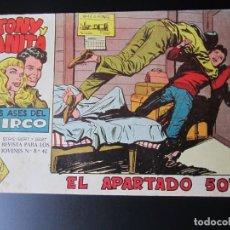 Tebeos: TONY Y ANITA (1960, MAGA) 10 · 14-IX-1960 · EL APARTADO 503. Lote 220273565