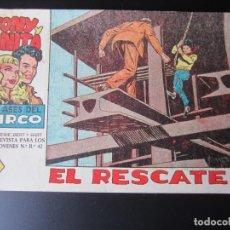 Tebeos: TONY Y ANITA (1960, MAGA) 8 · 31-VIII-1960 · EL RESCATE. Lote 220285926
