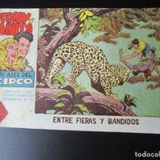 Tebeos: TONY Y ANITA (1960, MAGA) 21 · 30-XI-1960 · ENTRE FIERAS Y BANDIDOS. Lote 220287673