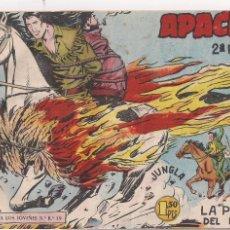 Tebeos: APACHE 2ª PARTE Nº 6: LA PRUBA DEL FUEGO. Lote 220403072