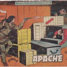 Tebeos: APACHE 2ª PARTE Nº 14: UN BUEN AMIGO. Lote 220404287