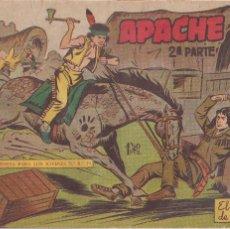 Tebeos: APACHE 2ª PARTE Nº 21: EL HACHA DE GUERRA. Lote 220406288