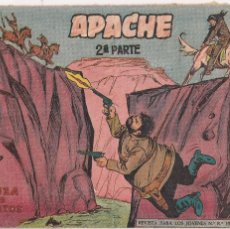 Tebeos: APACHE 2ª PARTE Nº 23: LA ALIANZA DE LOS MALDITOS. Lote 220406667