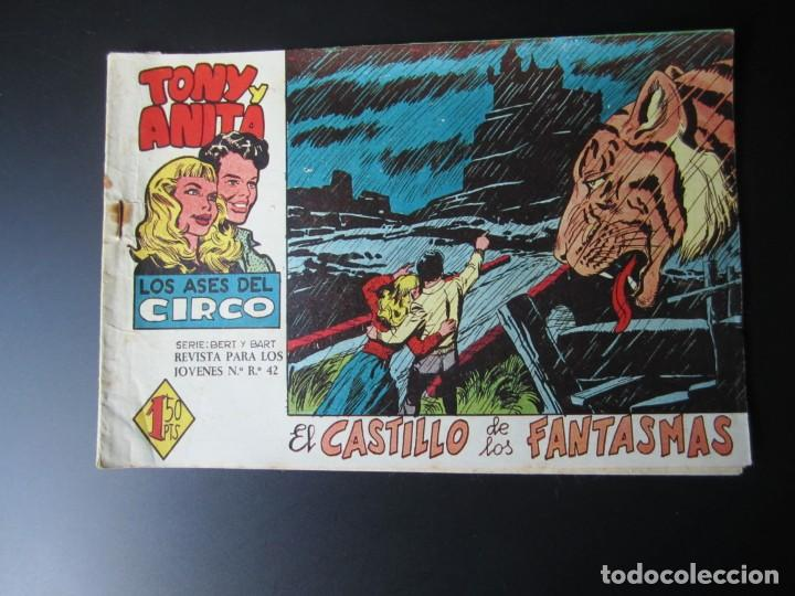 TONY Y ANITA (1960, MAGA) 4 · 3-VIII-1960 · EL CASTILLO DE LOS FANTASMAS (Tebeos y Comics - Maga - Tony y Anita)