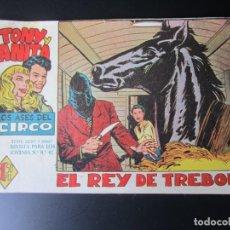 Tebeos: TONY Y ANITA (1960, MAGA) 6 · 17-VIII-1960 · EL REY DE TREBOL. Lote 220506522