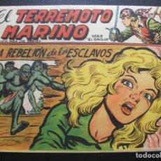 Livros de Banda Desenhada: EL TERREMOTO MARINO Nº 45. Lote 220551702