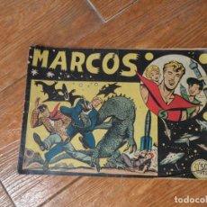 Tebeos: MARCOS DE MANUEL GAGO COLECCION COMPLETA ORIGINAL EDITORIAL MAGA 1958 30 NUMEROS. Lote 220564230