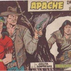 Tebeos: APACHE 2ª PARTE Nº 30: LA GRUTA DE LAS SORPRESAS. Lote 220587580