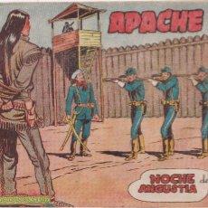 Tebeos: APACHE 2ª PARTE Nº 32 NOCHE DE ANGUSTIA. Lote 220588043