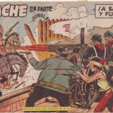 Tebeos: APACHE 2ª PARTE Nº 33: A SANGRE Y FUEGO. Lote 220588177