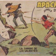 Tebeos: APACHE 2ª PARTE Nº 34: LA SANGRE DE LOS VALIENTES. Lote 220588286