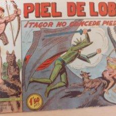Livros de Banda Desenhada: PIEL DE LOBO Nº 89. ORIGINAL. TAGOR NO CONCEDE PIEDAD. MAGA 1959. Lote 220687683