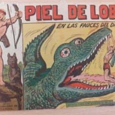 Livros de Banda Desenhada: PIEL DE LOBO Nº 55. ORIGINAL. EN LAS FAUCES DEL DRAGÓN. MAGA 1959. Lote 220687847