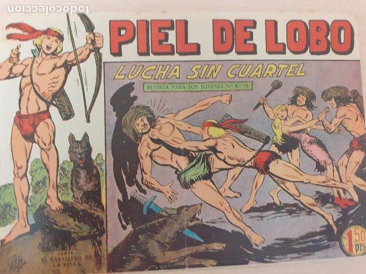 PIEL DE LOBO Nº 53. ORIGINAL. LUCHA SIN CUARTEL. MAGA 1959 (Tebeos y Comics - Maga - Piel de Lobo)