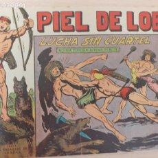 Livros de Banda Desenhada: PIEL DE LOBO Nº 53. ORIGINAL. LUCHA SIN CUARTEL. MAGA 1959. Lote 220687918