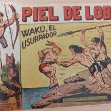 Livros de Banda Desenhada: PIEL DE LOBO Nº 40. ORIGINAL. WAKÚ, EL USURPADOR. MAGA 1959. Lote 220688131