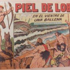 Livros de Banda Desenhada: PIEL DE LOBO Nº 38. ORIGINAL. EN EL VIENTRE DE UNA BALLENA. MAGA 1959. Lote 220688258