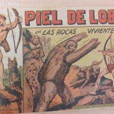 Livros de Banda Desenhada: PIEL DE LOBO Nº 35. ORIGINAL. LAS ROCAS VIVIENTES. MAGA 1959. Lote 220688357
