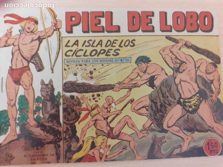 PIEL DE LOBO Nº 30. ORIGINAL. LA ISLA DE LOS CÍCLOPES. MAGA 1959 (Tebeos y Comics - Maga - Piel de Lobo)