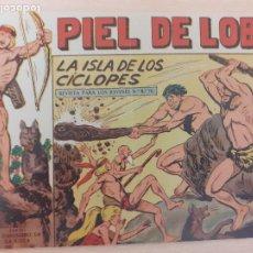 Livros de Banda Desenhada: PIEL DE LOBO Nº 30. ORIGINAL. LA ISLA DE LOS CÍCLOPES. MAGA 1959. Lote 220688427