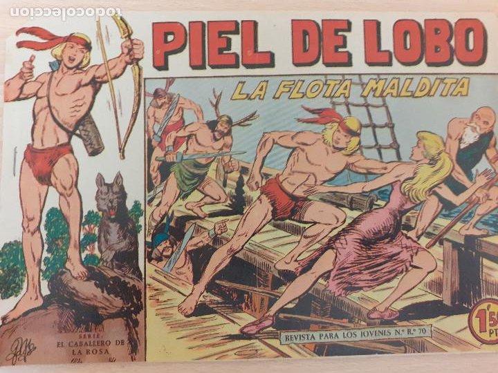 PIEL DE LOBO Nº 29. ORIGINAL. LA FLOTA MALDITA. MAGA 1959 (Tebeos y Comics - Maga - Piel de Lobo)
