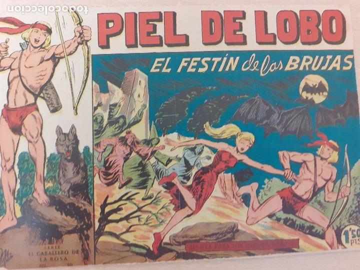 PIEL DE LOBO Nº 36. ORIGINAL. EL FESTÍN DE LAS BRUJAS. MAGA 1959 (Tebeos y Comics - Maga - Piel de Lobo)
