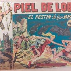 Livros de Banda Desenhada: PIEL DE LOBO Nº 36. ORIGINAL. EL FESTÍN DE LAS BRUJAS. MAGA 1959. Lote 220688606