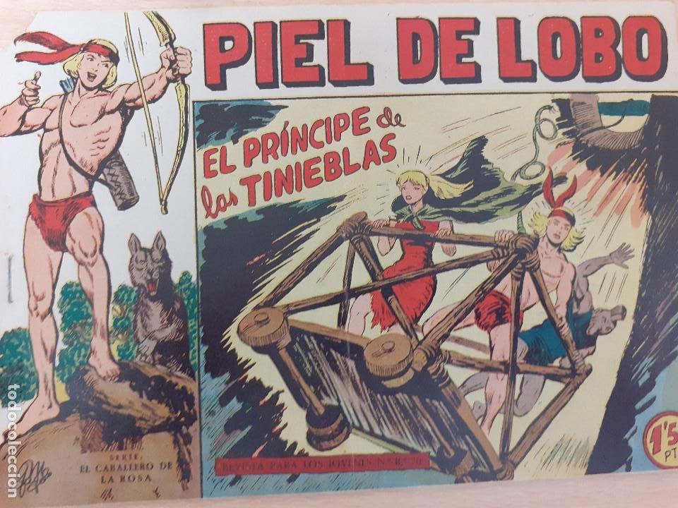 PIEL DE LOBO Nº 25. ORIGINAL. EL PRÍNCIPE DE LAS TINIEBLAS. MAGA 1959 (Tebeos y Comics - Maga - Piel de Lobo)