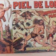 Livros de Banda Desenhada: PIEL DE LOBO Nº 13. ORIGINAL. ATAQUE EN MASA. MAGA 1959. Lote 220688876