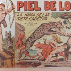 Livros de Banda Desenhada: PIEL DE LOBO Nº 8. ORIGINAL. LA HIDRA DE LAS SIETE CABEZAS. MAGA 1959. Lote 220688958