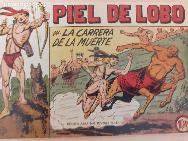 PIEL DE LOBO Nº 6. ORIGINAL. LA CARRERA DE LA MUERTE. MAGA 1959 (Tebeos y Comics - Maga - Piel de Lobo)
