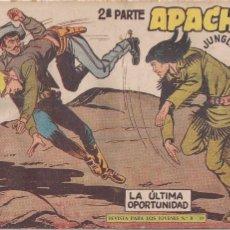 Tebeos: APACHE 2ª PARTE Nº 59: LA ÚLTIMA OPORTUNIDAD. Lote 220758146