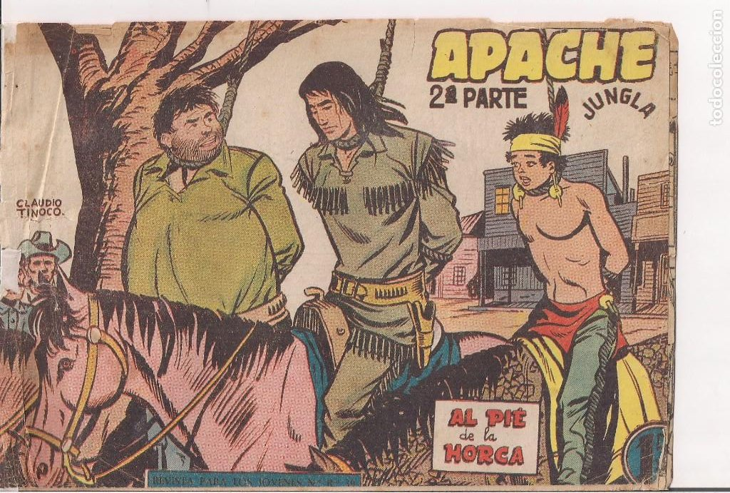 APACHE 2ª PARTE Nº 60: AL PIÉ DE LA HORCA (Tebeos y Comics - Maga - Apache)