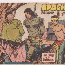 Tebeos: APACHE 2ª PARTE Nº 60: AL PIÉ DE LA HORCA. Lote 220758413