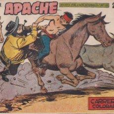 Tebeos: APACHE 2ª PARTE Nº 62: CARRERA EN COLORADO. Lote 220758667