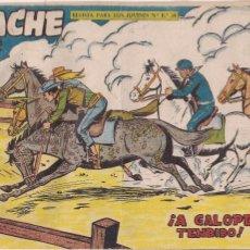 Tebeos: APACHE 2ª PARTE Nº 63: A GALOPE TENDIDO. Lote 220758913