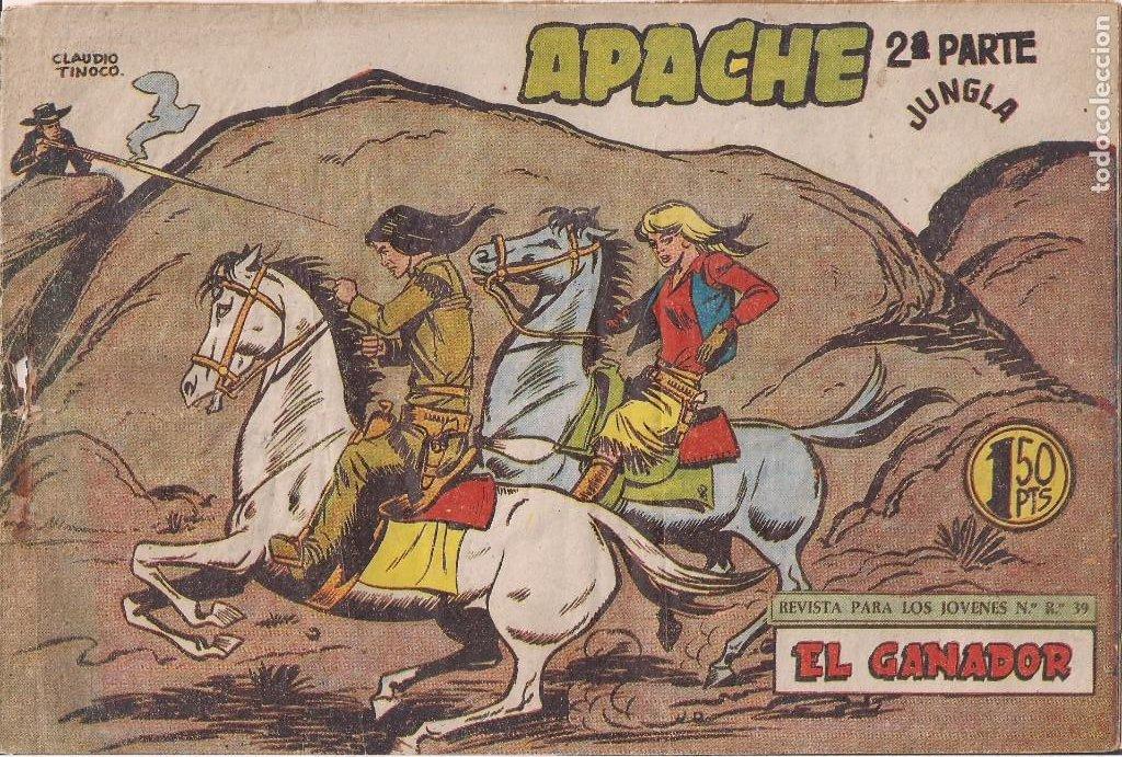 APACHE 2ª PARTE Nº 64: EL GANADOR (Tebeos y Comics - Maga - Apache)