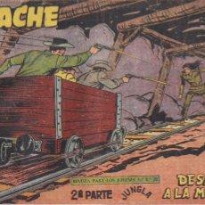 Tebeos: APACHE 2ª PARTE Nº 65: DESAFÍO A LA MUERTE. Lote 220759120
