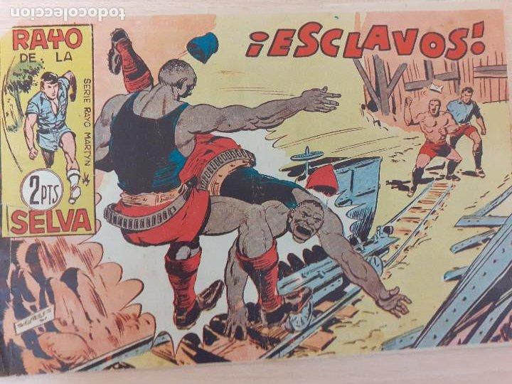 RAYO DE LA SELVA Nº 64. ORIGINAL. ESCLAVOS. MAGA 1960 (Tebeos y Comics - Maga - Rayo de la Selva)